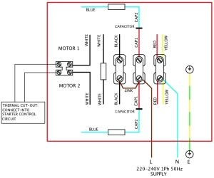 Single Phase Motor Wiring Diagram Wiring Electrical Wiring Diagrams intended for 1 Phase Motor