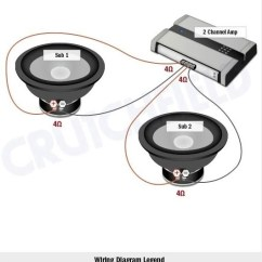2 Ohm Sub Wiring Diagram Two Way Light Switch Circuit | Fuse Box And