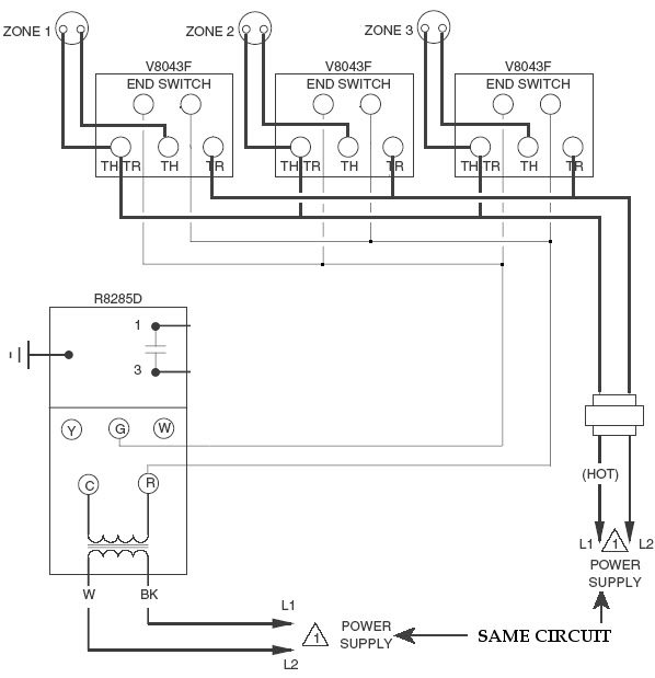 taco zone control wiring honeywell zone valve wiring diagram regarding honeywell zone valve wiring diagram zone valve wiring diagram honeywell honeywell wiring diagrams at crackthecode.co