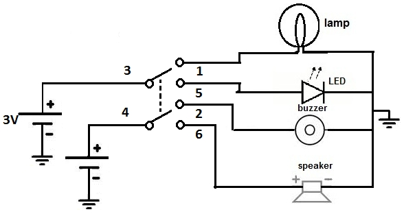 wiring diagram for on off on toggle switch