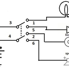 Double Pole Single Throw Light Switch Wiring Diagram Cb Radio Microphone 2 Toggle | Fuse Box And