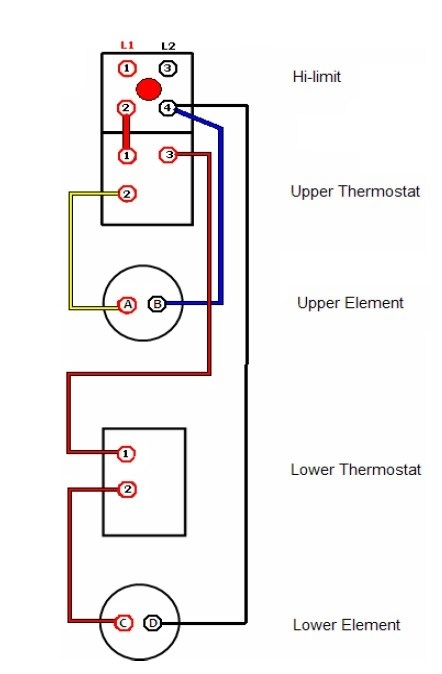 🏆 diagram in pictures database electric hot water heater