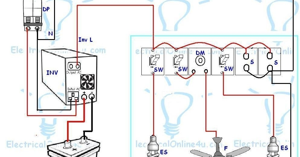 ups inverter wiring diagram for one room office for inverter home wiring diagram?resize\=665%2C350\&ssl\=1 inverter home wiring diagram home ac wiring diagram \u2022 free wiring smart ups 1250 battery wiring diagram at soozxer.org