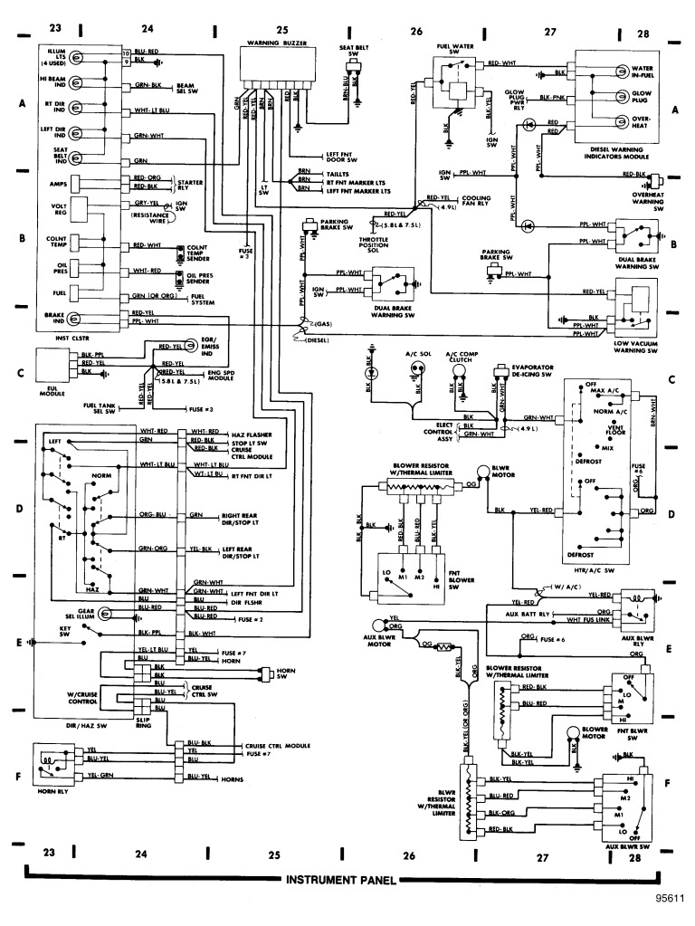 89 Ford Ranger Radio Wiring Diagram 89 Ford Ranger Fuse