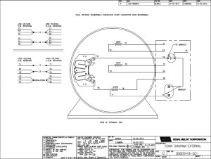 Ao Smith 2 Speed Motor Wiring Diagram | Fuse Box And