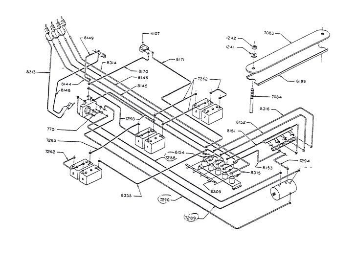 club car wiring diagrams golf cart