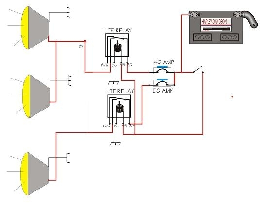 off road light wire diagram