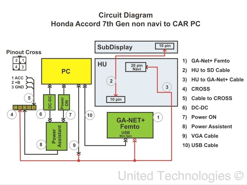 2007 honda accord ac wiring diagram