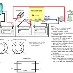 24 36 Volt Trolling Motor Wiring Diagram Spotlight With Switch | Fuse Box And