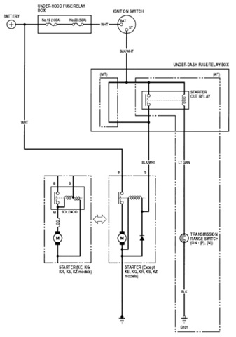 Wiring Diagram For 2001 Honda Crv