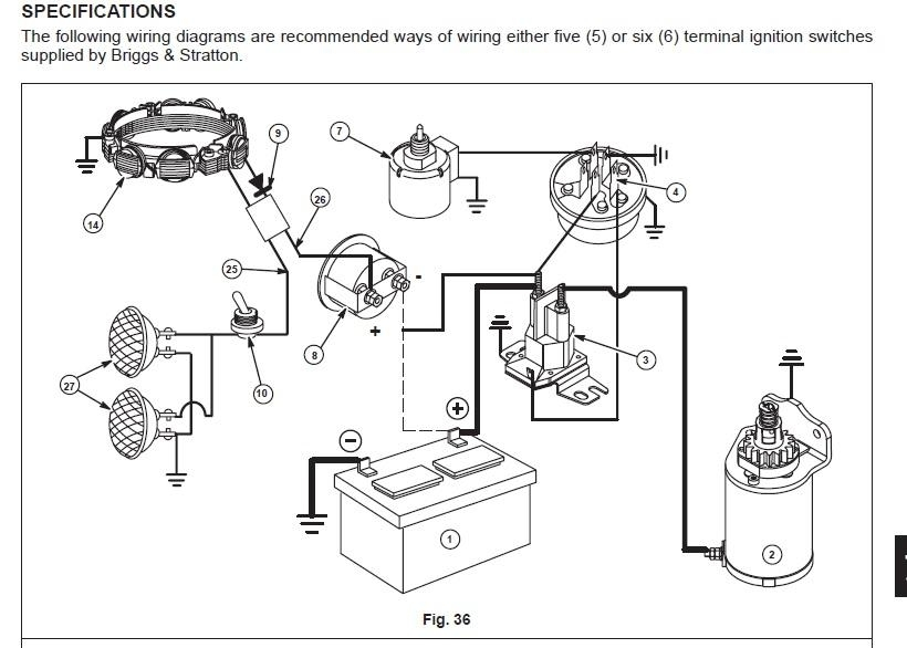 briggs and stratton 18 hp wiring diagram
