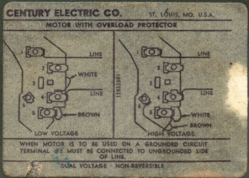 century ac motor ao smith wiring diagram club car golf cart battery electric | fuse box and