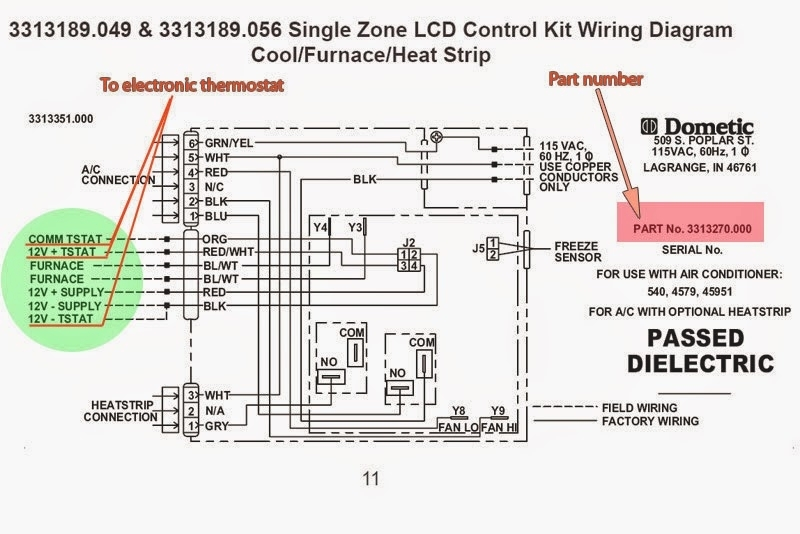digital thermostat rv wiring diagram