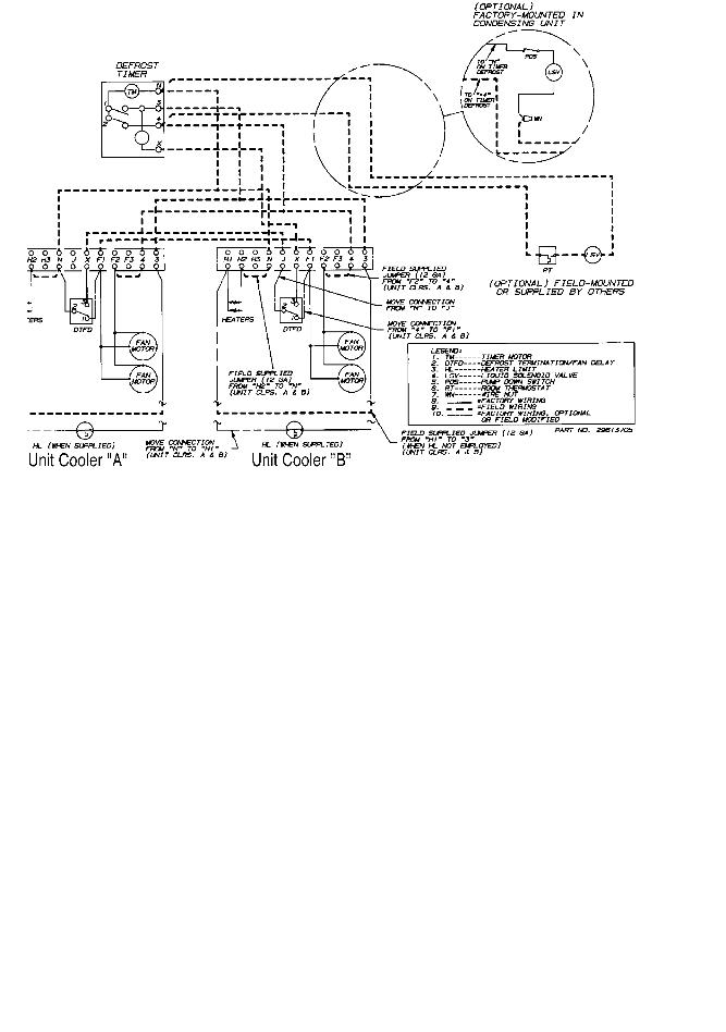 walk in cooler wiring diagram for youtube