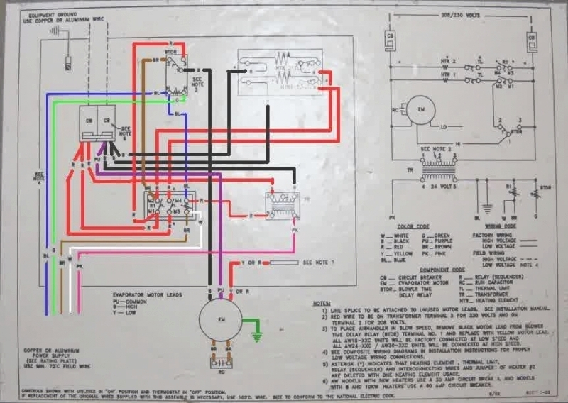 wiring diagram for goodman air handler the wiring diagram regarding goodman air handler wiring diagram goodman air handler wiring diagram air handler wiring schematic at bakdesigns.co