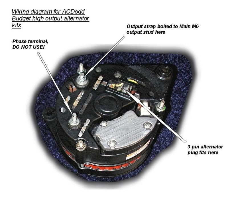 Ldv Alternator Wiring Diagram