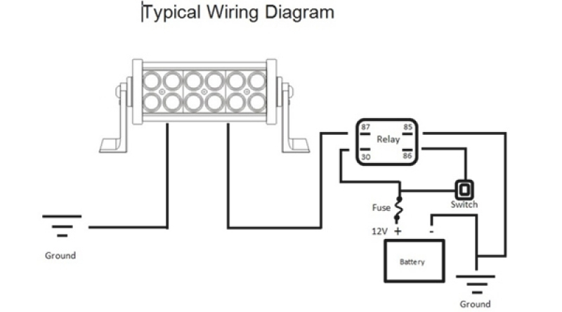 Wiring Diagram For Led Light Bar