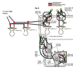 FLUORESCENT FIXTURES WIRING DIAGRAMS  Auto Electrical