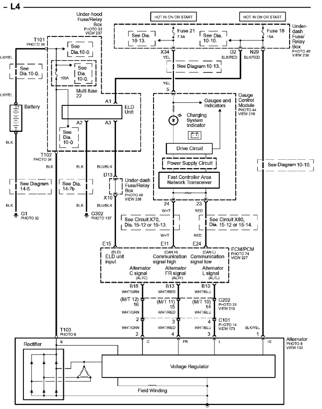 Wiring Diagram For Radio Of 1995 Honda Accord