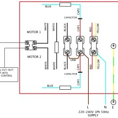 Reversible Single Phase Ac Motor Wiring Diagram 1984 Chevy Silverado Radio For Reversing Awesome Throughout ...