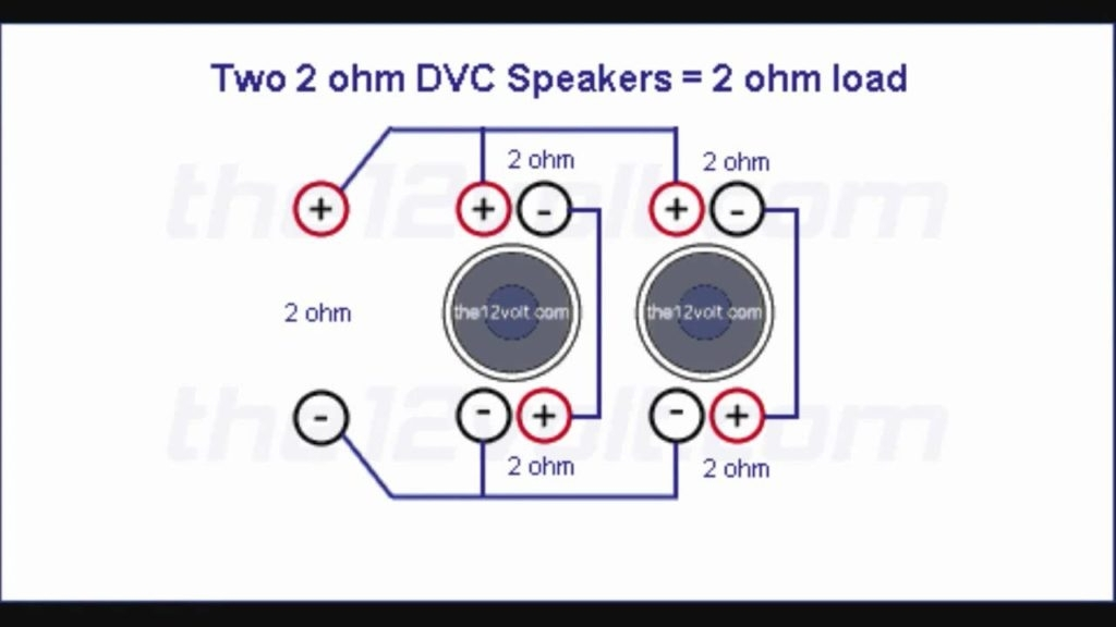 Wiring 2 Ohm Dvc Channel Amp