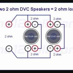 Kicker L7 Wiring Diagram Bohr Of Iron 4 Ohm Dual Voice Coil Subwoofer | Fuse Box And