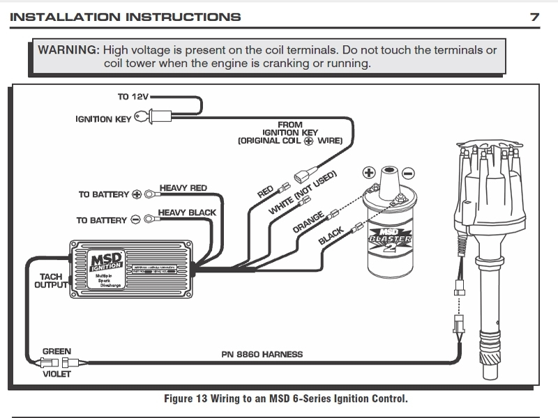 wiring diagram msd ignition if you are