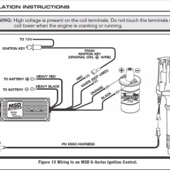Msd 6al Wiring Diagram Chevy Cat6e Ignition Box To Coil – Readingrat In | Fuse And ...