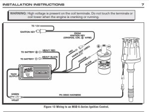 Wiring Diagram Msd 6Al Ignition Box To Coil – Readingrat in Msd Wiring Diagram | Fuse Box And