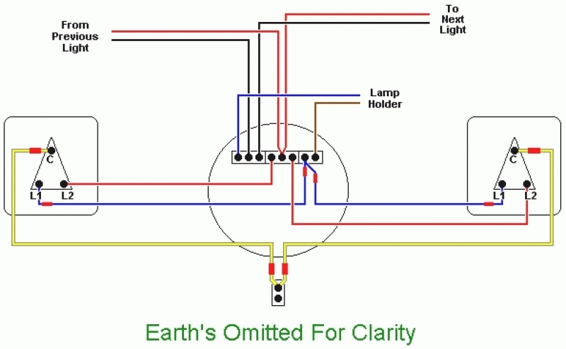 wiring diagram for light switch and schematic