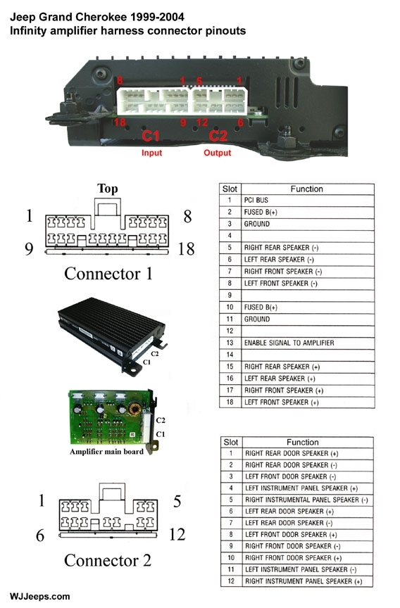 radio wiring diagram jeep cherokee 2001