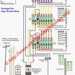 6 Way Tpn Distribution Board Wiring In Parallel Diagram Electrical 3 Phase Diagrams With Ac ...