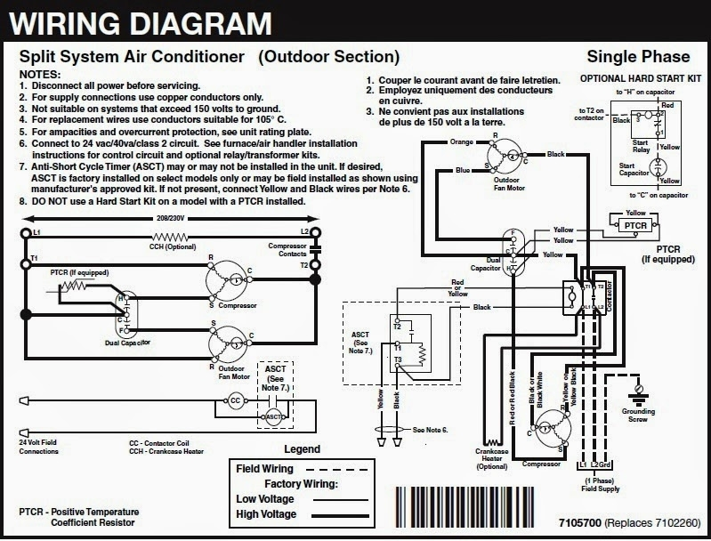 Wiring Diagram For Ac Unit Periodic Diagrams Science Electrical ...