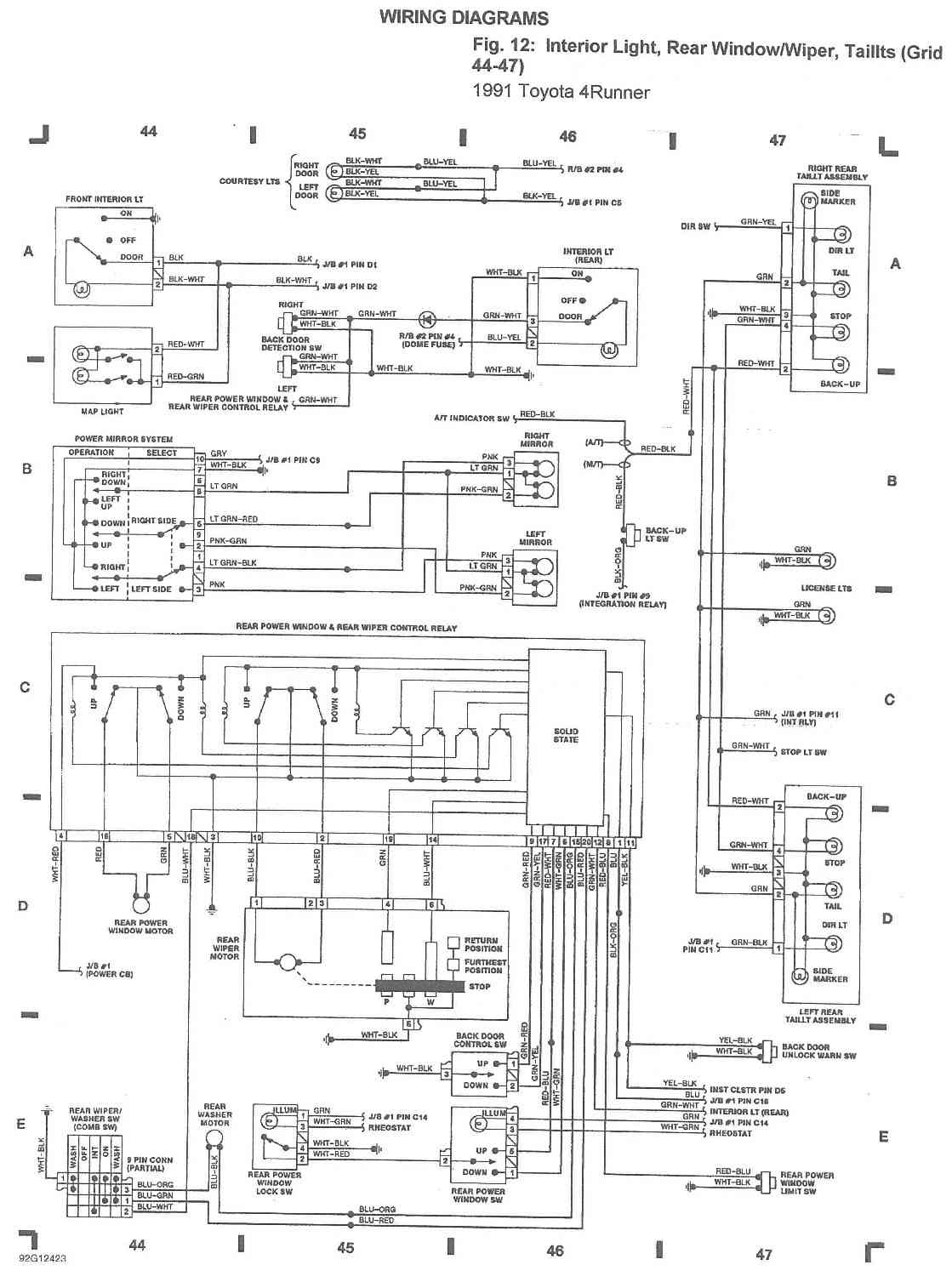 Enchanting Toyota Stereo Wire Colors Motif - Wiring Diagram Ideas ...