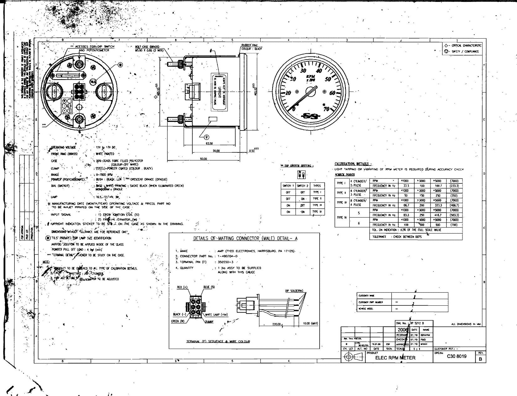 amount of poles for 1990 90hp engine for tach setup page 1 pertaining to boat gauge wiring diagram for tachometer?resize=665%2C509&ssl=1 mesmerizing yamaha outboard tach wiring diagram contemporary yamaha outboard wiring harness diagram at fashall.co