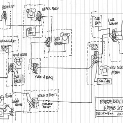 Home Telephone Wiring Diagram House Of A Typical Circuit Leich Phone Inside Basic Fuse