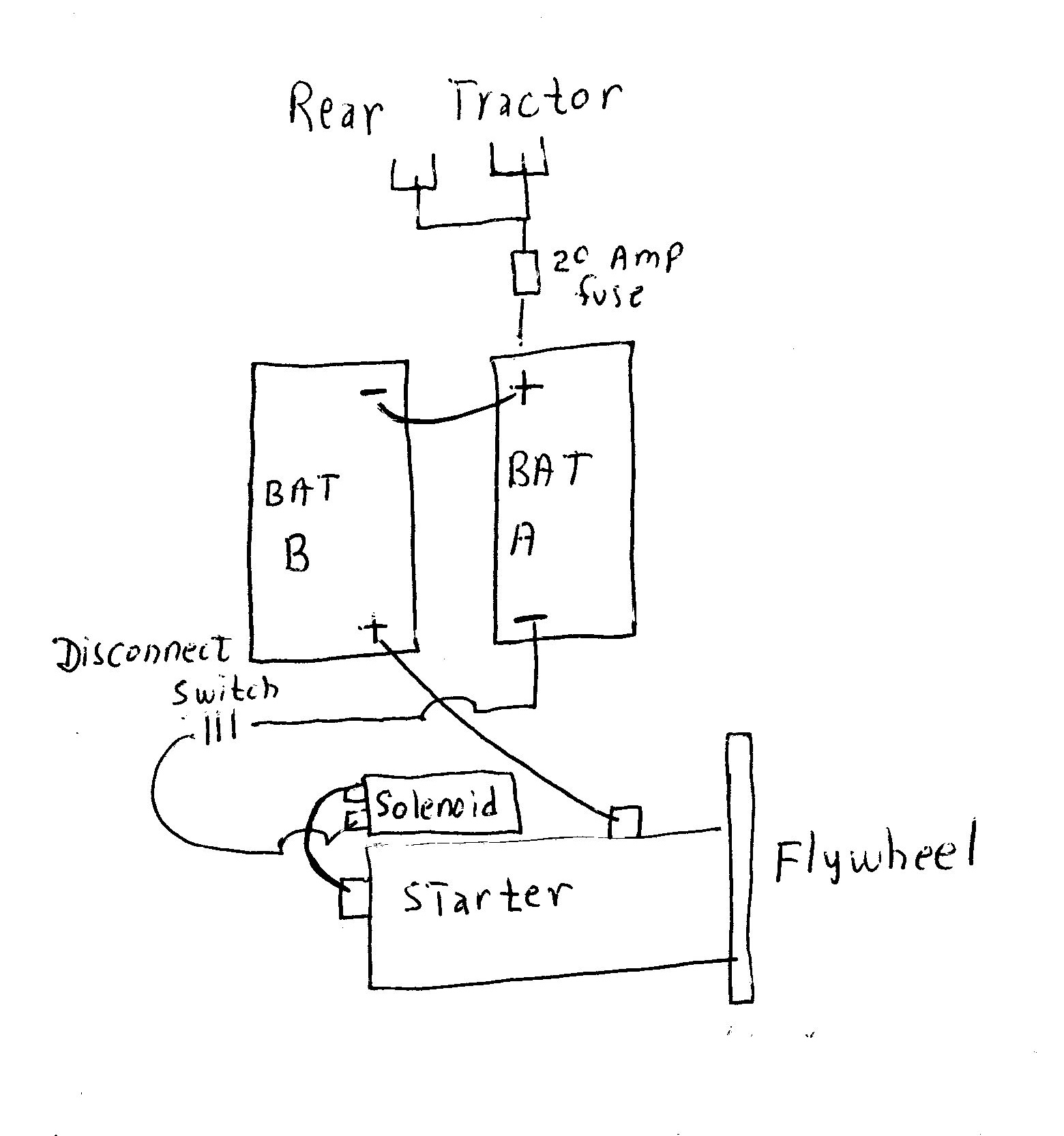 ford tractor generator wiring diagram rock cycle fill in 8n 6 volt 12