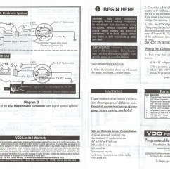 Vdo Marine Tachometer Wiring Diagram 1998 Dodge Ram 2500 Stereo Boat Gauge For Fuse Box And