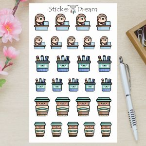 Sticker Dream - Cartela Studio Work