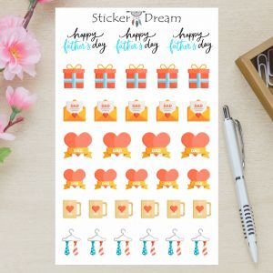 Sticker Dream - Cartela Dia dos Pais