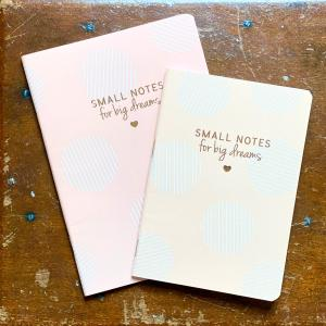 Small Notes For Big Dreams Bolinhas Rosa