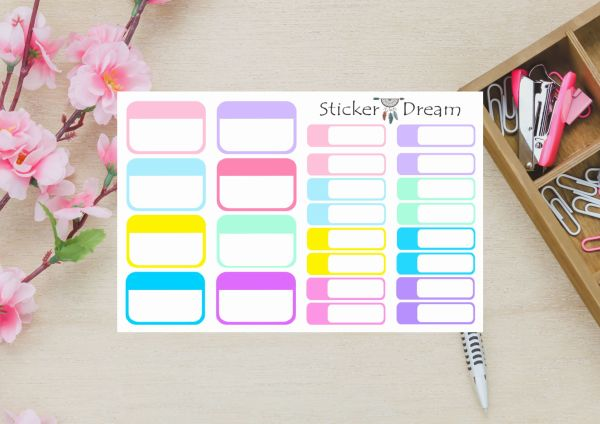 Sticker Dream - Kit Half Box