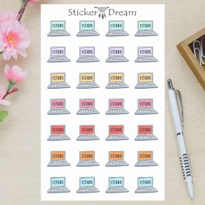 Sticker Dream - Cartela Estudo