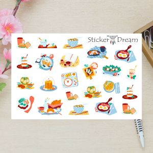 Sticker Dream - Cartela Super Mesa Posta