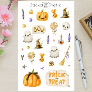 Sticker Dream - Cartela Boo!