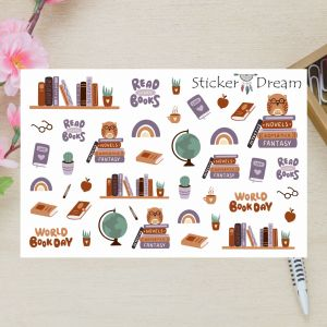 Sticker Dream - Cartela Super Read More Books