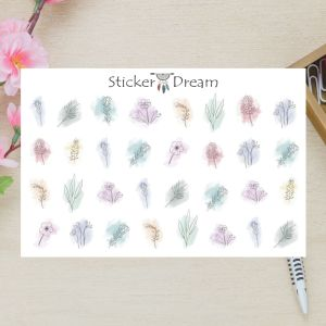 Sticker Dream - Cartela Super Sweet Flowers