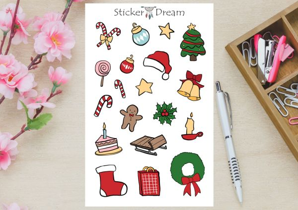 Sticker Dream - It's Christmas Time