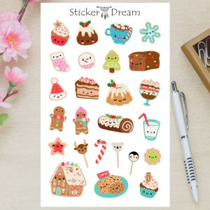 Sticker Dream - Sobremesas de Natal
