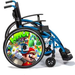 Wheelchair Ebay Best Bean Bag Chairs For Sensory Integration Spoke Guards Vinyl Skins Custom Designs